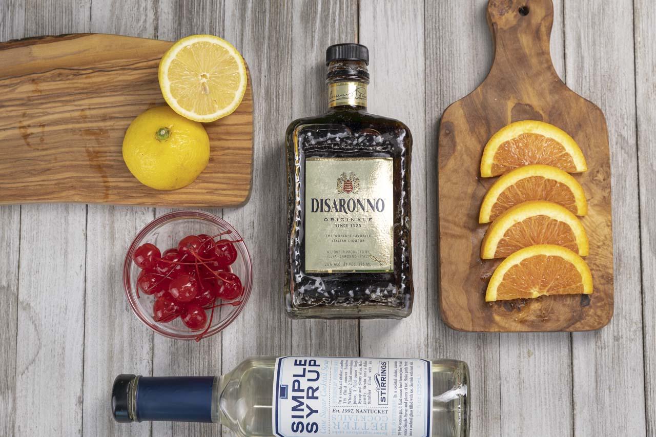 Amaretto Sour Ingredients