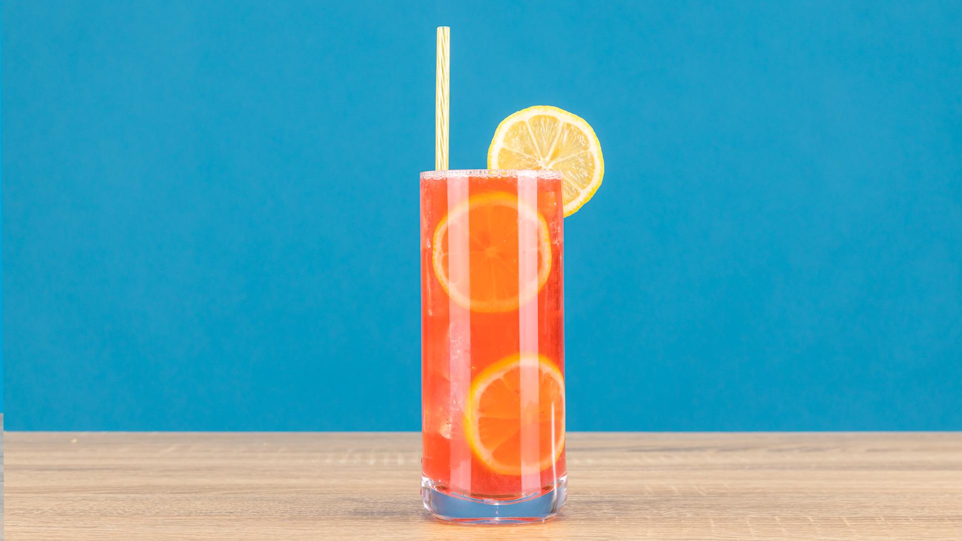 Berry Boozy Lemonade
